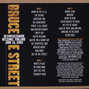 ブルーススプリングスティーン Bruce Springsteen & The E Street Band - Helsinki, June 16, 2003 (CD)|musique69|02