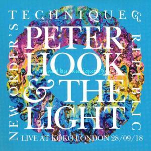 ピーターフック Peter Hook & The Light - Live at Koko London; New Order's Technique & Republic 28/09/2018 (CD)|musique69