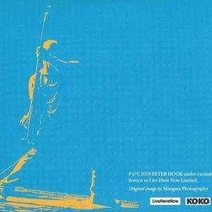 ピーターフック Peter Hook & The Light - Live at Koko London; New Order's Technique & Republic 28/09/2018 (CD)|musique69|02