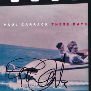 ポールキャラック Paul Carrack - These Days: Exclusive Autographed Edition (CD)|musique69