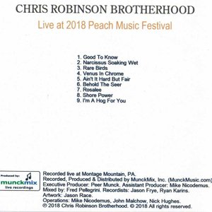 クリスロビンソン The Chris Robinson Brotherhood - Live at 2018 Peach Music Festival (CD)|musique69|02