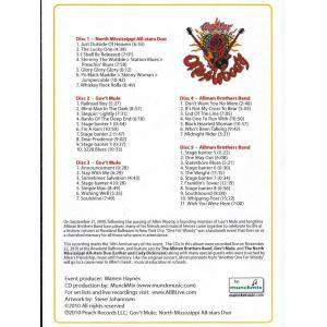 オールマンブラザーズバンド The Allman Brothers Band/ Gov't Mule/ North Mississippi Allstars Duo - Live at Another One for Woody Benefit Concert (CD) musique69 02