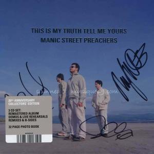 マニックストリートプリーチャーズ Manic Street Preachers - This is My Truth Tell Me Yours 20th Anniversary Collectors' Edition: Autographed (CD)|musique69