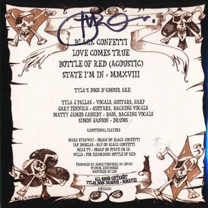 タイラズドッグスダムール Tyla's Dogs D'amour - Black Confetti Ep (CD) musique69 02
