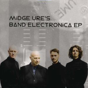 ウルトラヴォックス Ultravox (Midge Ure) - Band Electronica EP and Tour Booklet (CD) musique69