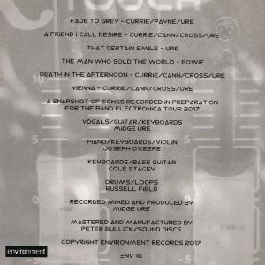 ウルトラヴォックス Ultravox (Midge Ure) - Band Electronica EP and Tour Booklet (CD) musique69 02