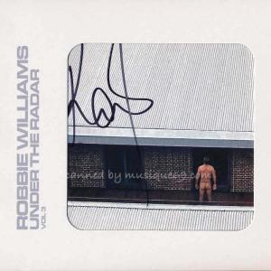 ロビーウィリアムス Robbie Williams - Under the Radar Vol 3: Super Deluxe Autographed Edition (CD)|musique69