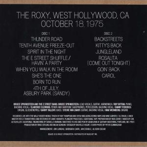 ブルーススプリングスティーン Bruce Springsteen & The E Street Band - The Roxy 1975 (CD)|musique69|02
