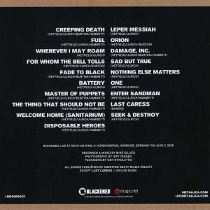 メタリカ Metallica - Nurburg, Germany 03/06/2006 (CD) musique69 02