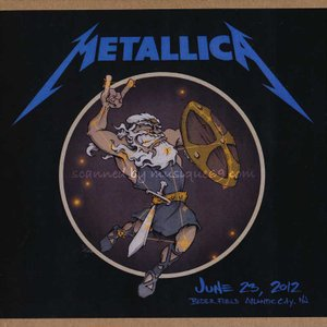 メタリカ Metallica - Atlantic City, NJ 06/23/2012 (CD)|musique69