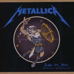 メタリカ Metallica - Atlantic City, NJ 06/23/2012 (CD)|musique69