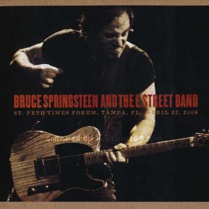 ブルーススプリングスティーン Bruce Springsteen & The E Street Band - St. Pete Times Forum, Tampa, FL, April 22, 2008 (CD)|musique69