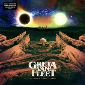 グレタヴァンフリート Greta Van Fleet - Anthem of the Peaceful Army: Exclusive Yellow Translucent Coloured Edition (vinyl)|musique69