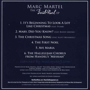 マークマーテル Marc Martel - The First Noel Ep (CD)|musique69|02