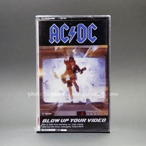 AC/DC - Blow Up Your Video (Cassette)|musique69