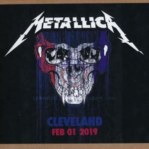 メタリカ Metallica - Cleveland, OH 02/01/2019 (CD)|musique69