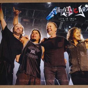 メタリカ Metallica - Imola, Italy 17/06/2006 (CD)|musique69