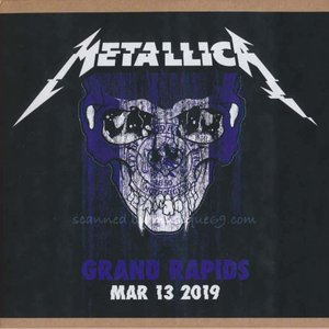 メタリカ Metallica - Grand Rapids, MI 03/13/2019 (CD)|musique69
