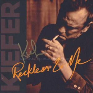キーファーサザーランド Kiefer Sutherland - Reckless & Me: Exclusive Autographed Edition (CD)|musique69