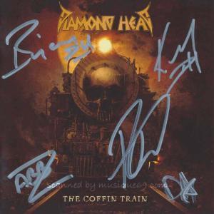 ダイアモンドヘッド Diamond Head - The Coffin Train: Exclusive Autographed Edition (CD)|musique69