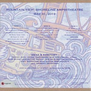 ジョンメイヤー John Mayer (Dead & Company) - Summer Tour: Mountain View, CA 05/31/2019 (CD)|musique69|02