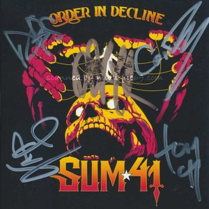 Sum 41 - Order in Decline: Exclusive Autographed Edition (CD)|musique69