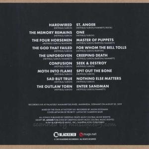 メタリカ Metallica - Mannheim, Germany 25/08/2019 (CD)|musique69|02