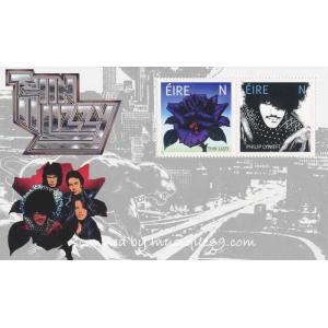 シンリジィ Thin Lizzy - Thin Lizzy Miniature Sheet (goods)|musique69