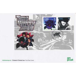 シンリジィ Thin Lizzy - Thin Lizzy FDC Miniature Sheet (goods)|musique69