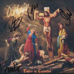 ダークネス The Darkness - Easter is Cancelled Deluxe Edition: Exclusive Autographed Version (CD)|musique69