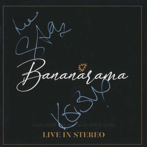 バナナラマ Bananarama - Live in Stereo: Exclusive Autographed Edition (CD)|musique69