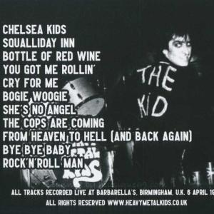 ヘヴィメタルキッズ Heavy Metal Kids - Live at Barbarella's Vol. 2 (CD) musique69 02