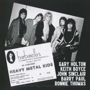 ヘヴィメタルキッズ Heavy Metal Kids - Live at Barbarella's Vol. 2 (CD) musique69 03