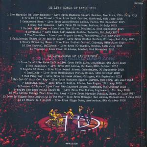 U2 - U2 Live Songs of Innocence + Experience (CD)|musique69|02