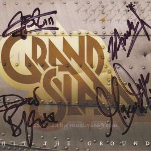 グランドスラム Grand Slam - Hit the Ground: Exclusive Autographed Edition (CD)|musique69