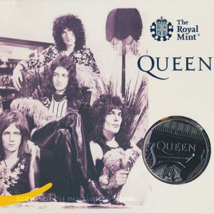 クイーン Queen - Music Legends: Queen £5 Brilliant Uncirculated Coin|musique69