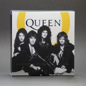 クイーン Queen - Music Legends: Queen 2020 UK Half Ounce Silver Proof Coin Limited Edition|musique69