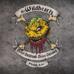 ワイルドハーツ The Wildhearts - PHUQ Live - Never Outdrunk, Never Outsung (CD) musique69