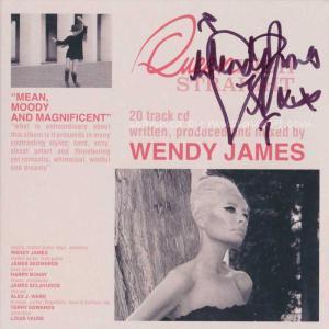 トランスヴィジョンヴァンプ Transvision Vamp (Wendy James) - Queen High Straight: Exclusive Autographed Edition (CD)|musique69