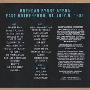 ブルーススプリングスティーン Bruce Springsteen & The E Street Band - Brendan Byrne Arena 1981 (CD)|musique69|02