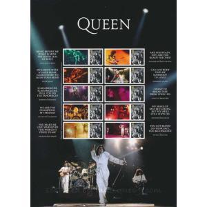 クイーン Queen Live Collector's Sheet (goods)|musique69