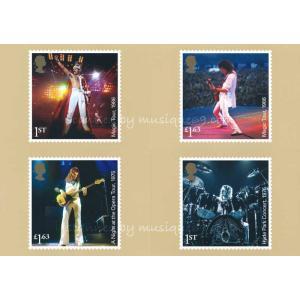 クイーン Queen Postcards (goods)|musique69|02