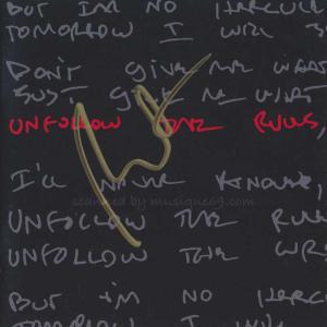 ルーファスウェインライト Rufus Wainwright - Unfollow the Rules: Exclusive Autographed Edition (CD)|musique69