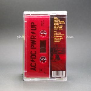 AC/DC - Power Up: Exclusive Red Edition (cassette)|musique69