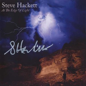 スティーヴハケット Steve Hackett - At the Edge of Light: Exclusive Autographed Edition (CD/DVD)|musique69