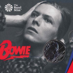 デヴィッドボウイ David Bowie - Music Legends: David Bowie 2020 £5 Brilliant Uncirculated Coin - Edition 1 (goods)|musique69