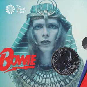 デヴィッドボウイ David Bowie - Music Legends: David Bowie 2020 £5 Brilliant Uncirculated Coin - Edition 4 (goods)|musique69