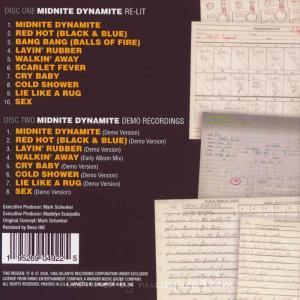 キックス KIX - Midnite Dynamite Re-Lit: 35th Anniversary Special Edition (CD) musique69 02