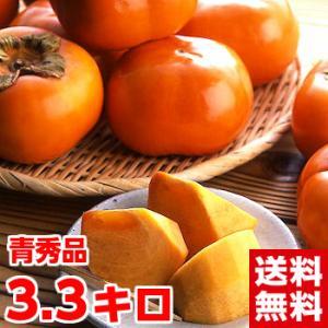 静岡県産 次郎柿 青秀3.3kg|muskmelon