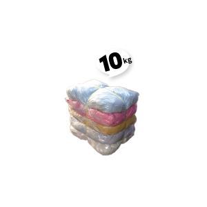 ウエス二色 色メリヤス 10kg  2kg×5袋  1セット|must-shop
